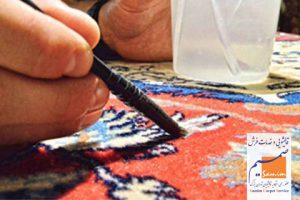 قلم زنی فرش